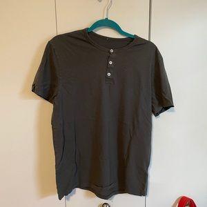 Alternative Apparel Henley Shirt
